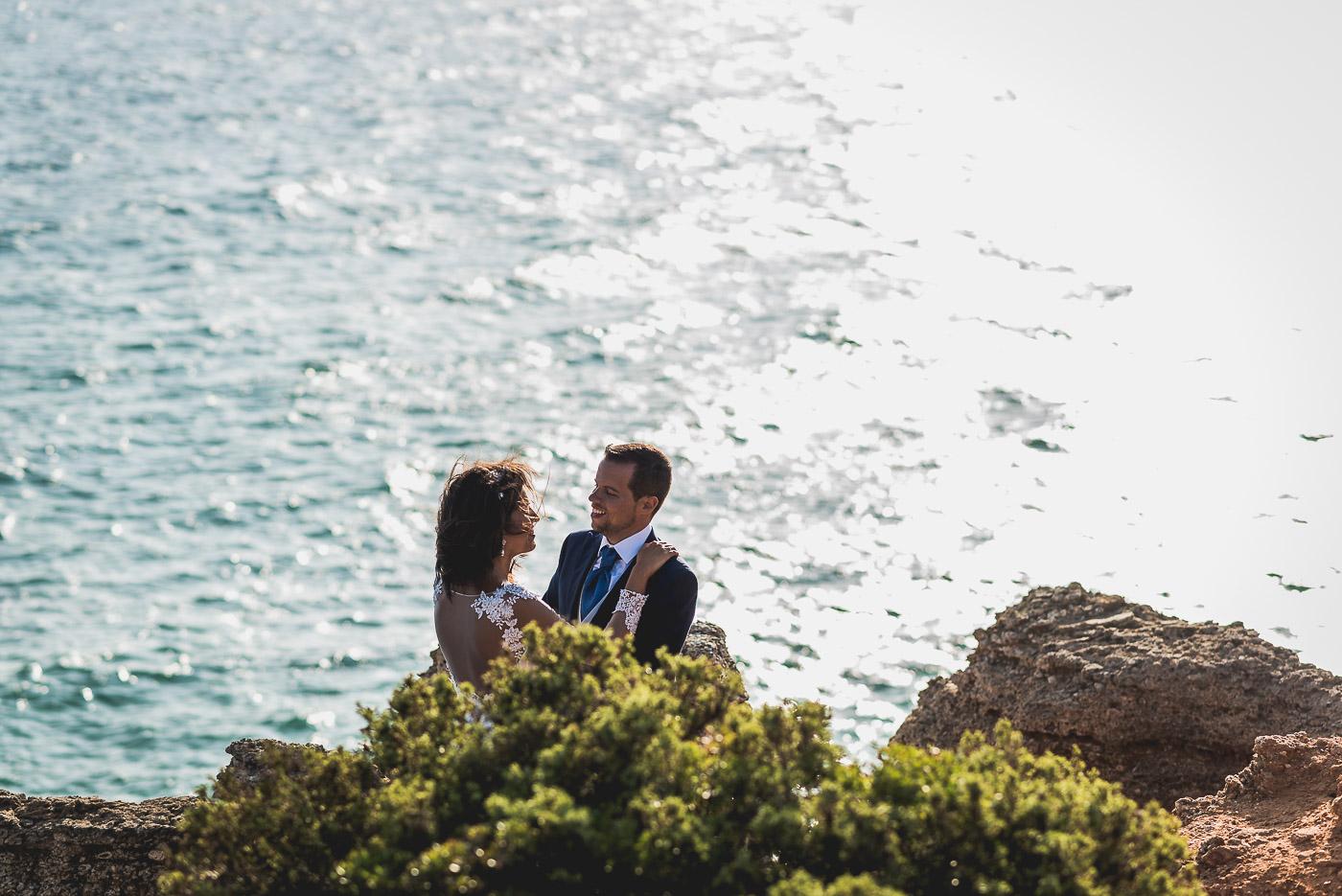 Preboda en Cabo Roche, Cádiz