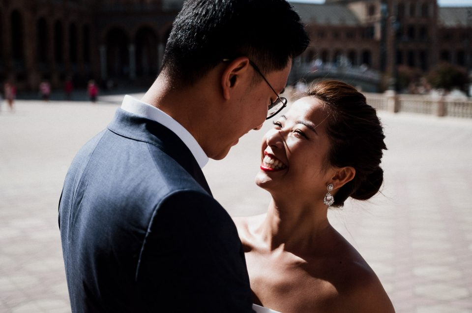 Fotógrafo parejas Sevilla | Couples Photographer in Seville | Chloe + Lee
