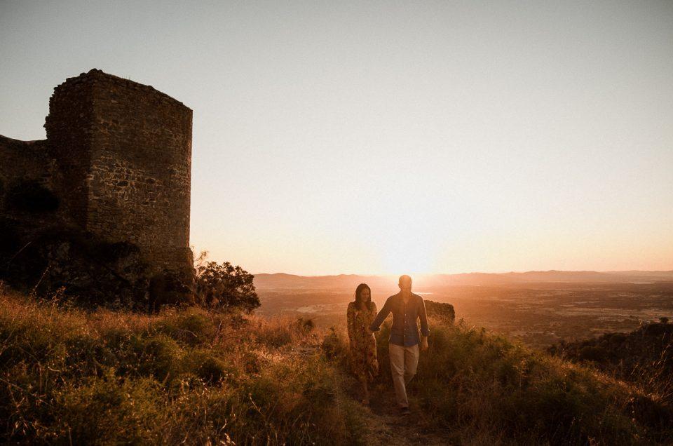 Fotógrafo de Boda en Cáceres | Preboda en Montánchez | Marta + Antonio